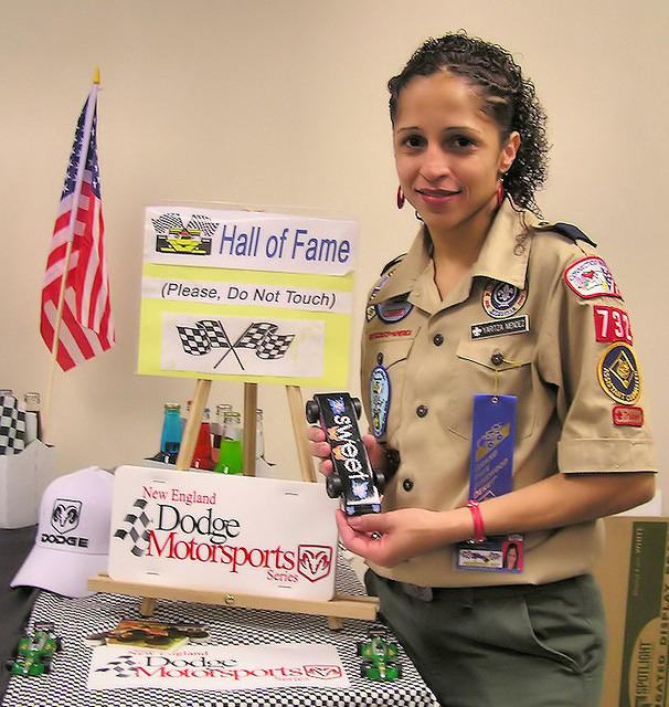 Adult Pinewood Derby Races