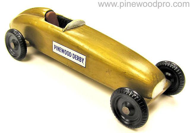 Vintage Pinewood Derby Cars